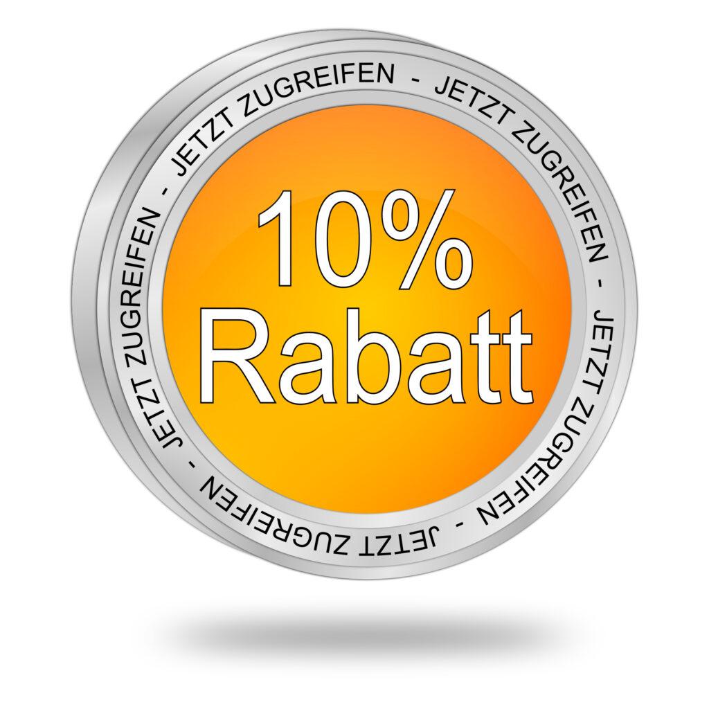 10% Rabatt - Blog e2ma.de