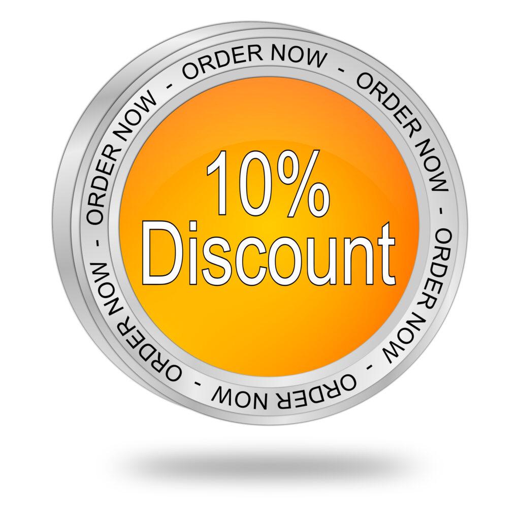 10% discount - Blog e2ma.de